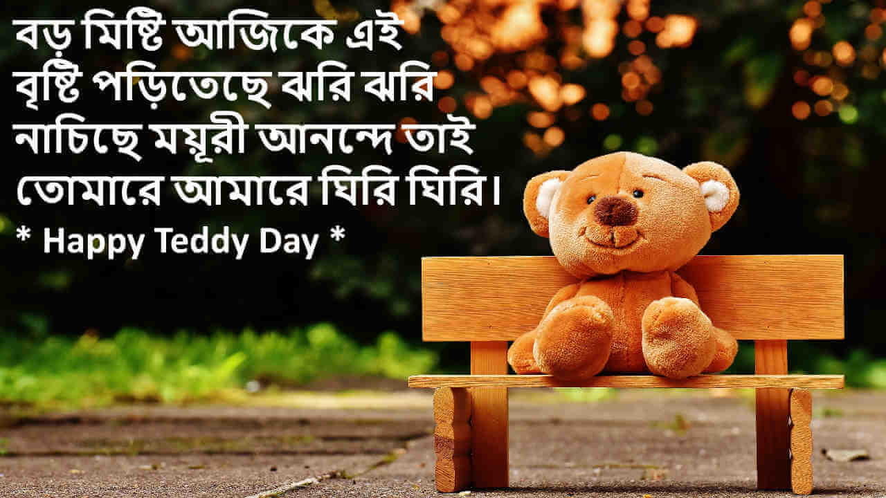happy teddy day shayari bangla